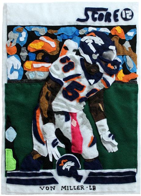 , 'Eating Greedy (Von Miller),' 2016, Black Book Gallery
