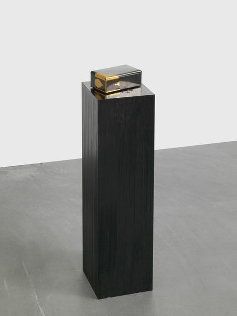 , 'Sans Titre (La boite en métal),' 2016, Galerie Eva Presenhuber