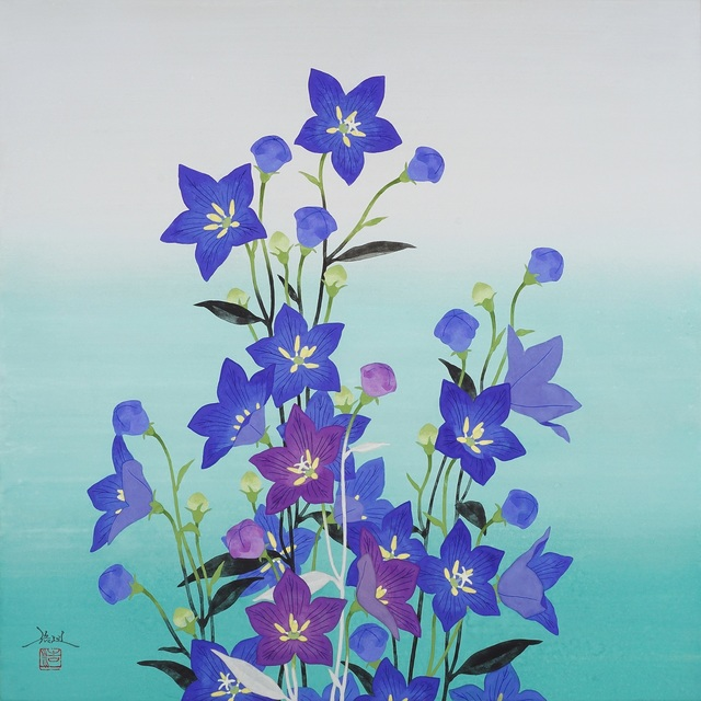 , 'When Chinese Bellflowers Bloom,' 2018, SEIZAN Gallery