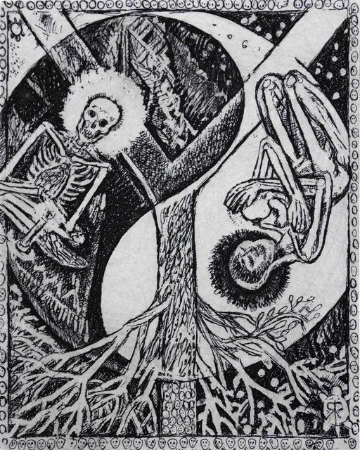 , 'Y - Yin & Yang,' 2014, Bert Green Fine Art