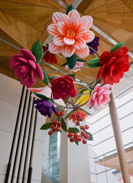 , 'Flower Chandelier,' 2011, P21