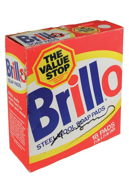 Andy Warhol, 'Brillo Box - Steel Wool Soap Pads - package', 1980 ., Bertolami Fine Arts