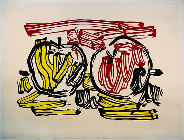 Roy Lichtenstein, 'Red and yellow Apple', 1983, Gregg Shienbaum Fine Art