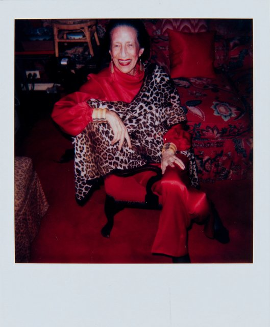 Andy Warhol, 'Andy Warhol, Polaroid Photograph of Diana Vreeland, 1983', 1983, Hedges Projects