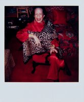 Andy Warhol, Andy Warhol, Polaroid Photograph of Diana Vreeland, 1983