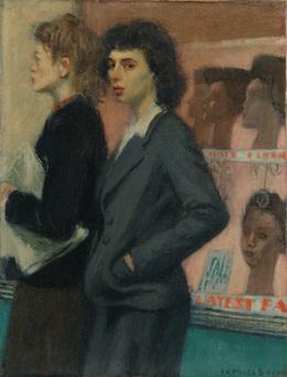 Raphael Soyer, 'Passersbys', 1933, Forum Gallery