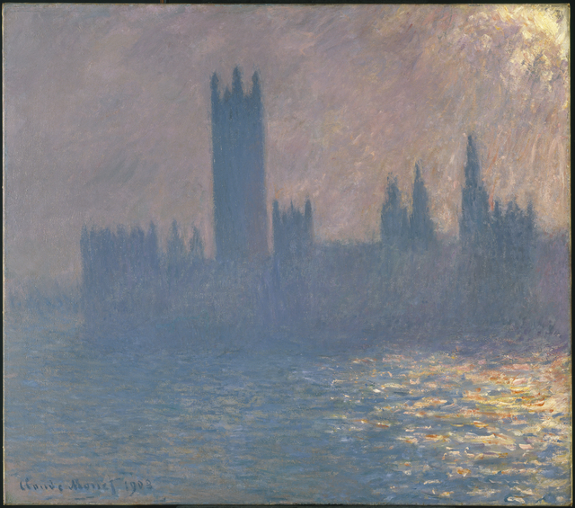 , 'Houses of Parliament, Sunlight Effect (Le Parlement, effet de soleil),' 1903, Brooklyn Museum
