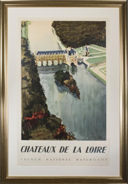 Robert Abel, 'Chateaux De La Loire (Societe Nationale des Chemins de Fer Francais)', 1947, David Barnett Gallery
