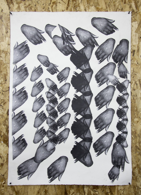 , 'Hampton Hamsa Lace,' 2016, SADE