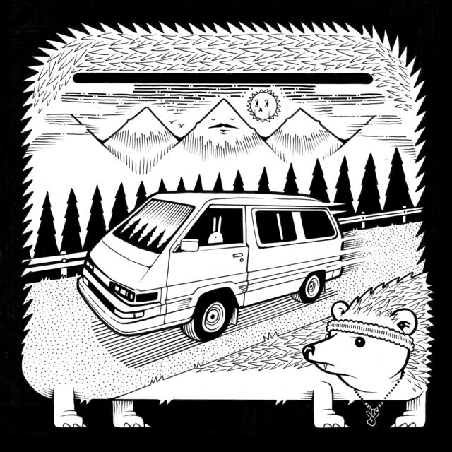 , '1989 Toyota Hedgehog,' 2017, Jonathan LeVine Projects