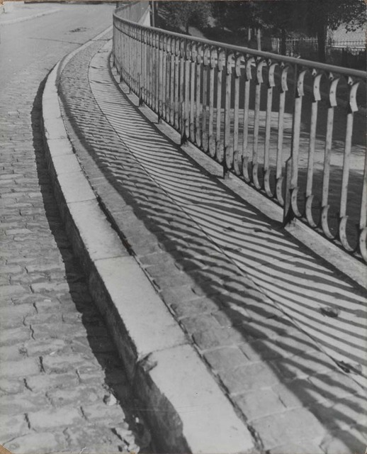 , 'Railings and Shadows,' ca. 1932, Osborne Samuel