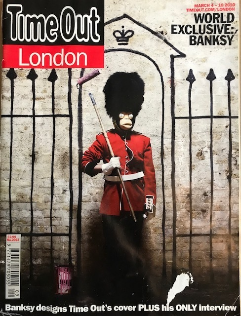 Banksy, 'Time Out Magazine London', 2010, New Union Gallery