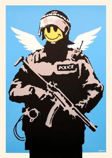 Banksy, 'Flying Copper', 2004, ArtLife Gallery