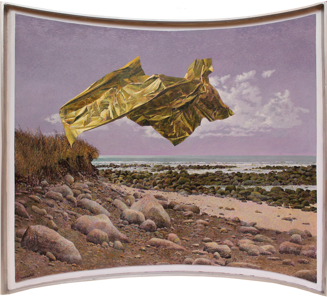 , 'The Golden Wrapper,' April 2013, Mira Godard Gallery