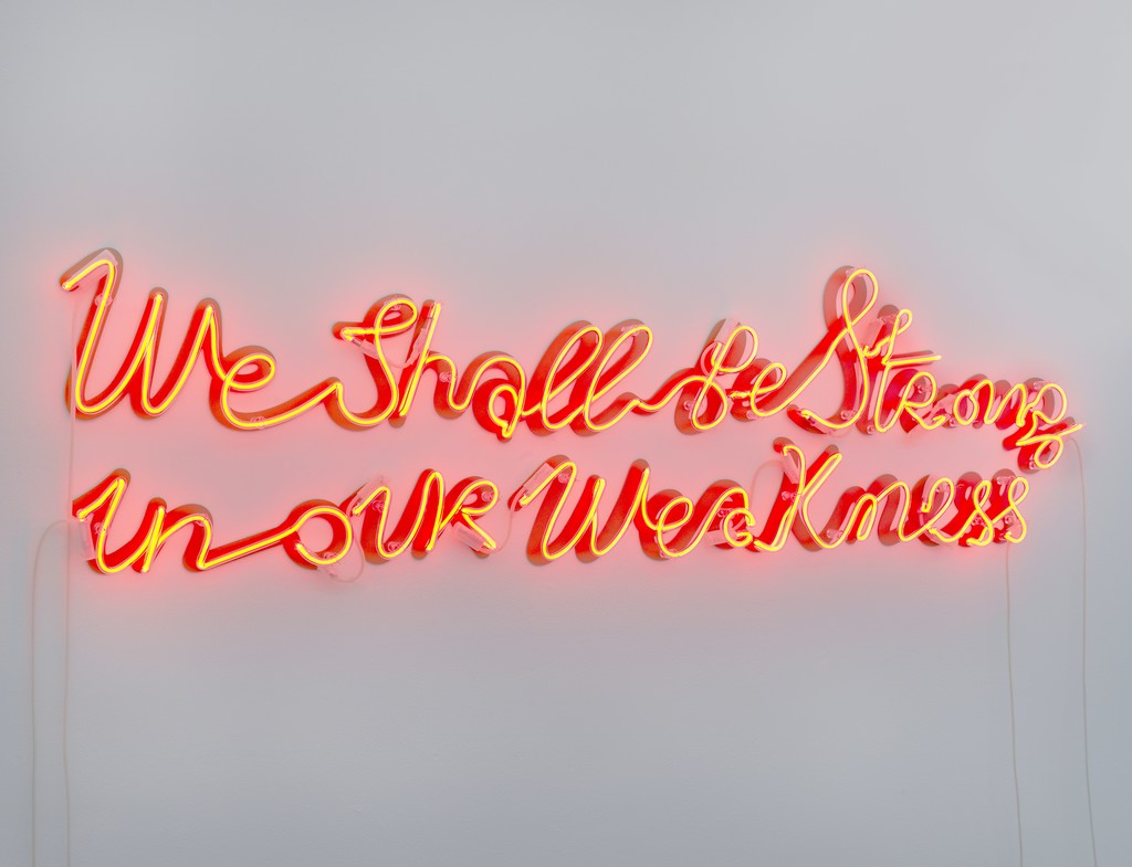 Yael Bartana, We Shall Be Strong in Our Weakness, 2012. Photo Gert Jan van Rooij.