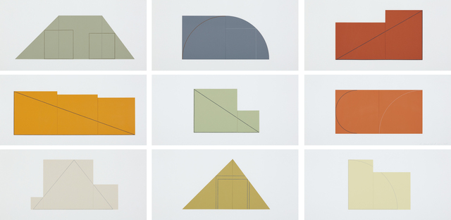 Robert Mangold, 'Multiple Panel Paintings, 1973-1976: A Book of Silk Screen Prints', 1977, Phillips