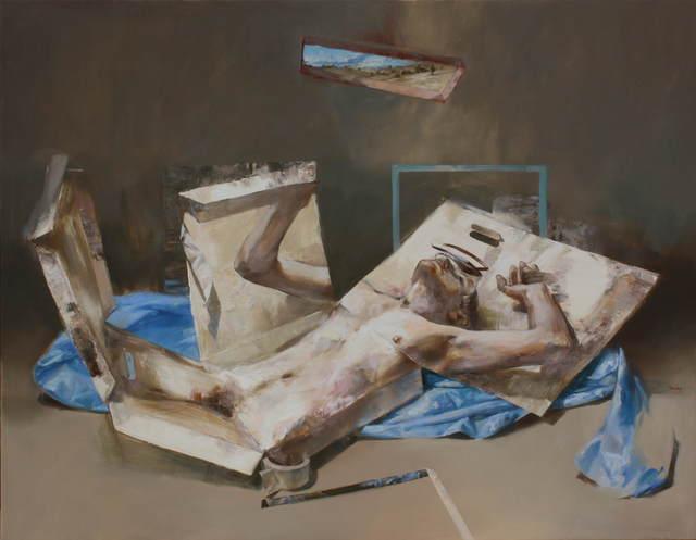 , 'Inbox,' 2017, Léna & Roselli Gallery
