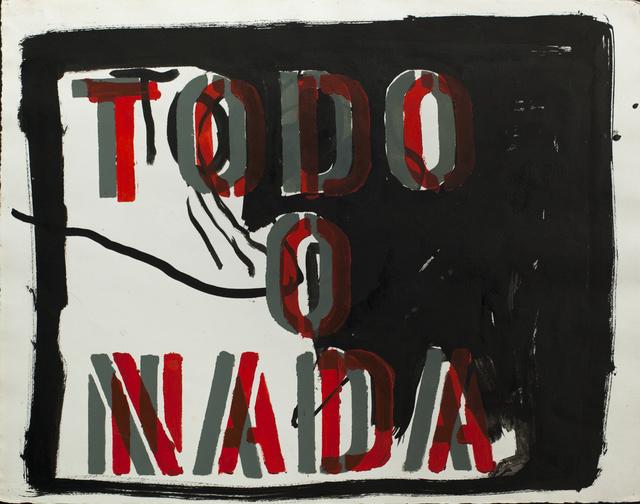 , 'Untitled (Todo o nada),' 2007, Cosmocosa