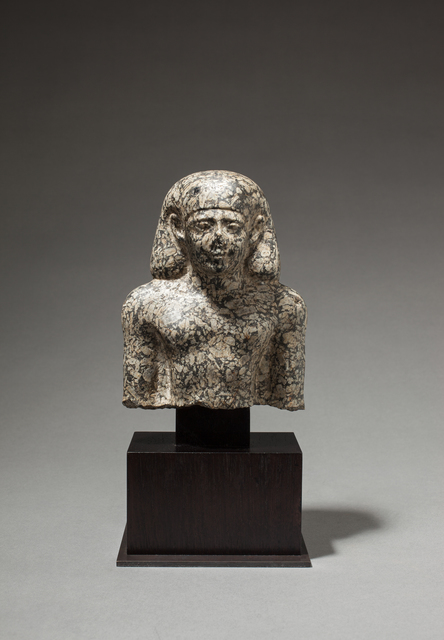 , 'Bust of a Priest of Khonsu-Pa-Ir-Sekher,' Late Dynastic Period-c.4th century BC BCE, Charles Ede