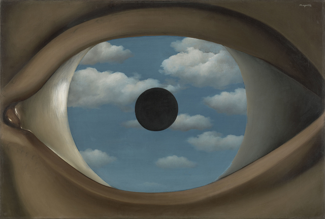 , 'The False Mirror (Le Faux Miroir),' 1928, Art Institute of Chicago