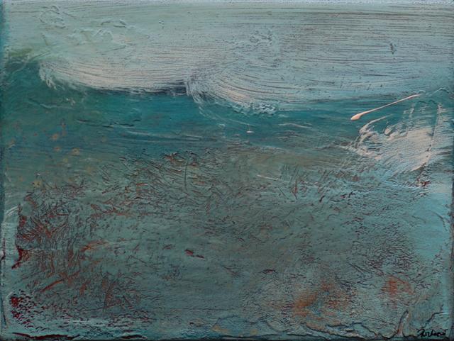 , 'Sea Study II,' 2018, Little Buckland Gallery