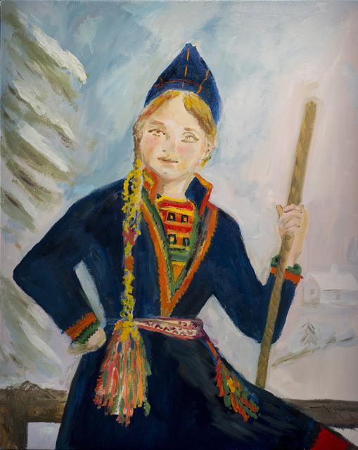, 'our long lost relatives! the saami of norhtern sweden, finland and norway,' 2013, Galerie Eva Presenhuber