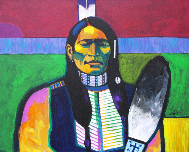 , 'Cheyenne Scout,' ca. 2018, Ventana Fine Art