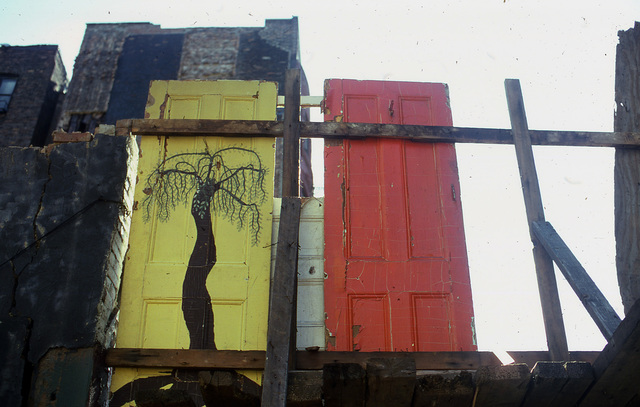 , 'Palm Door (E. 7th Ave. B C),' 1979, Inda Gallery
