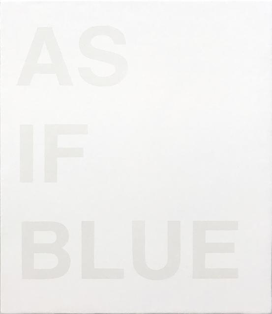 , 'Untitled (As Blue),' 2018, TOTAH