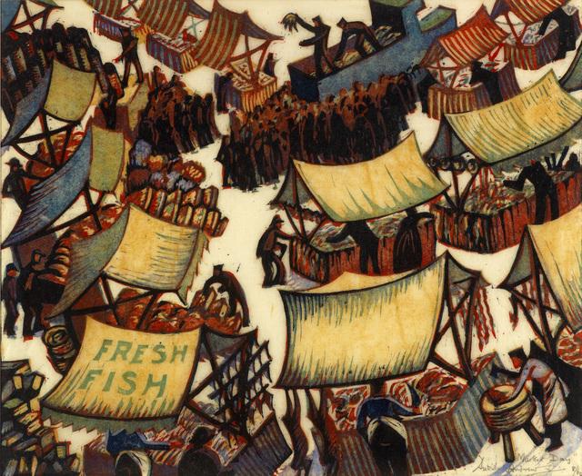 , 'Market Day,' 1936, Osborne Samuel
