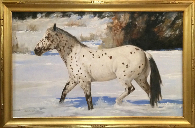 , 'Nambe Snow Pony,' 2017, Blue Rain Gallery