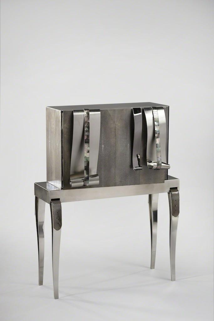 Maria Pergay, 'Meuble Galuchat / Caviar Cabinet,' 2005, Demisch Danant