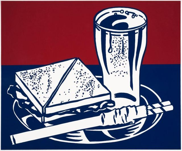 Roy Lichtenstein, 'Sandwich & Soda', 1964, DANE FINE ART