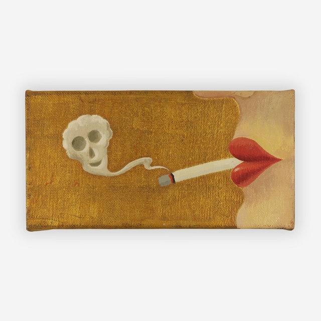 Milan Kunc, 'Lips with smoke', 1993, Capsule Gallery Auction