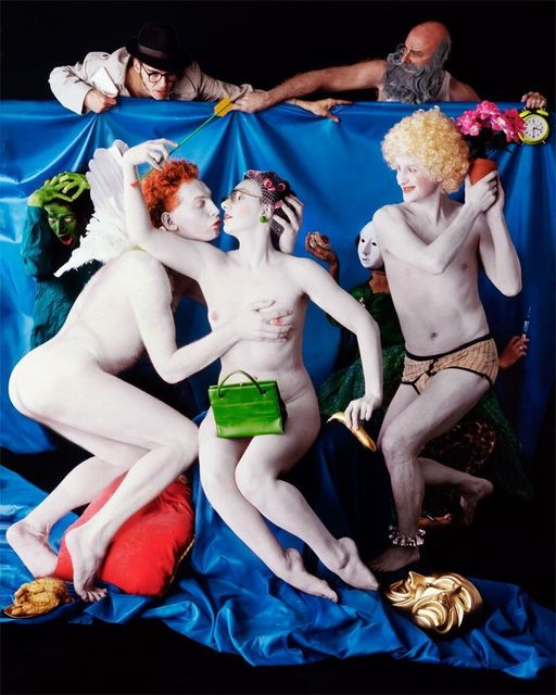 , 'Allegory with Cupid and Vera,' 2017, Carrie Haddad Gallery