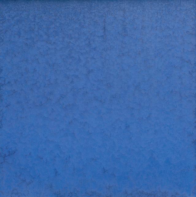 , 'Iced Cobalt Blue I,' 2016-2017, Galerie Bei Der Albertina Zetter