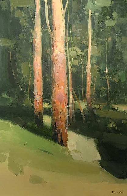 Vahe Yeremyan, 'Birches Trees', 2019, Vayer Art