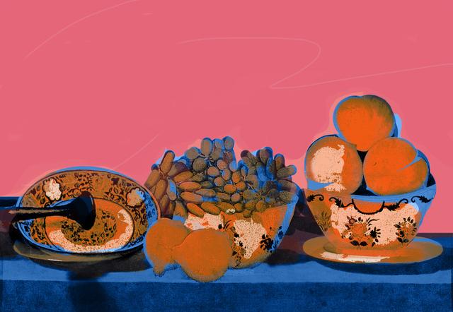 Hojat Amani, 'Pink Dizi', 2016, Janet Rady Fine Art