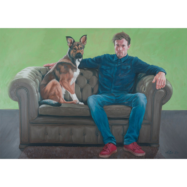 , 'Philipp and Rudy,' 2015, Glade Gallery
