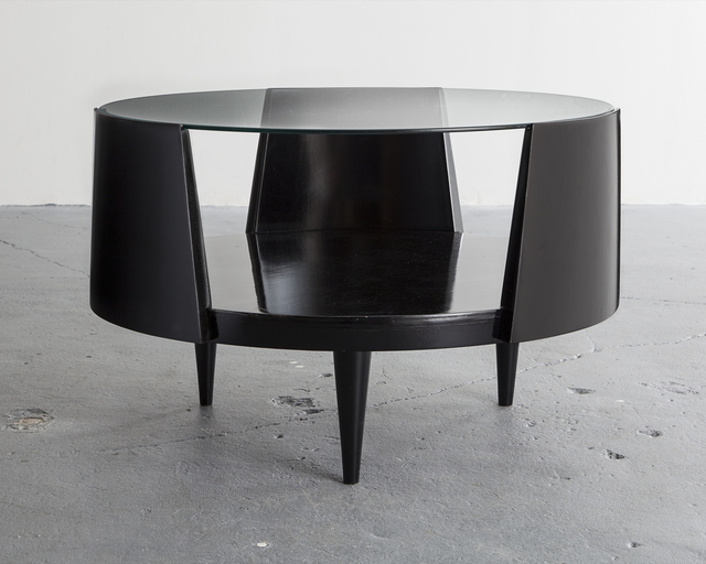 Eisler, 'Round coffee table', 1950s, R & Company