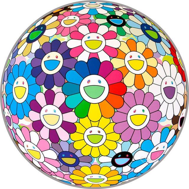 Takashi Murakami, 'Flower Ball: Annular Solar Eclipse', 2018, MSP Modern