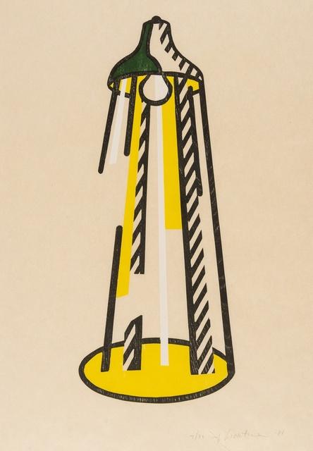 Roy Lichtenstein, 'Lamp (Corlett 182)', 1981, Forum Auctions