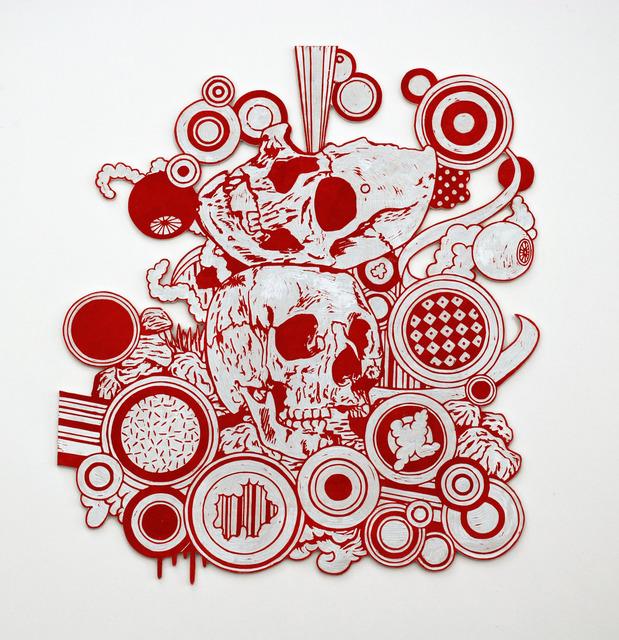 Kenichi Yokono, 'two skulls', 2011, Micheko Galerie