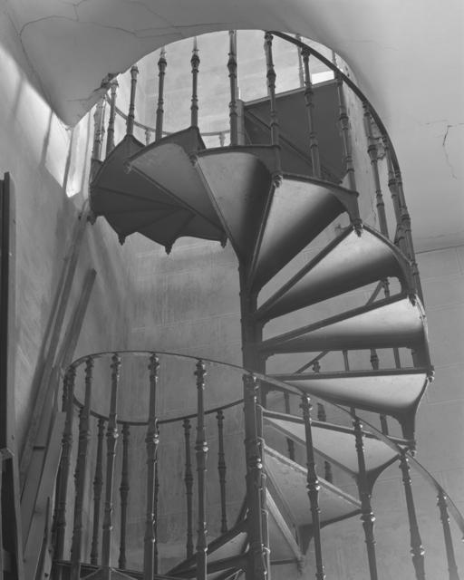 , 'Wentletrap (Servant's Staircase at Łańcut Castle),' 2017, Wschód