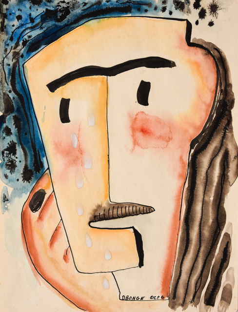 Dusti Bongé, 'Untitled (Surrealist Portrait of a Man)', ca. 1948, Amanda Winstead Fine Art
