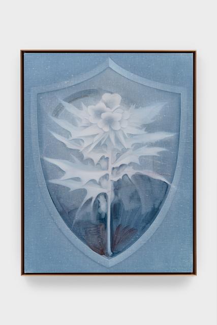 , 'Shield (Henbane),' 2018, Kasmin