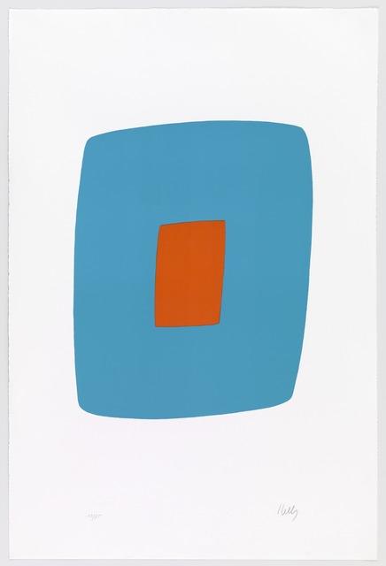 , 'Light Blue with Orange,' 1964-1965, Carolina Nitsch Contemporary Art