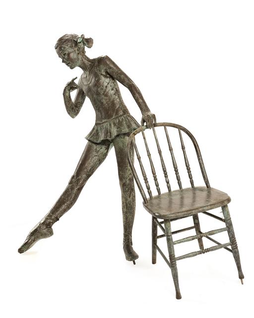 Sterett-Gittings Kelsey, 'Vanessa (Ballerina) with chair', John Moran Auctioneers