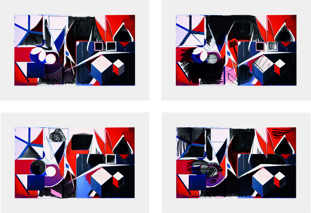 Thomas Scheibitz, 'Studie/Denkmal für einen Trickfilm', 2009, Schellmann Art