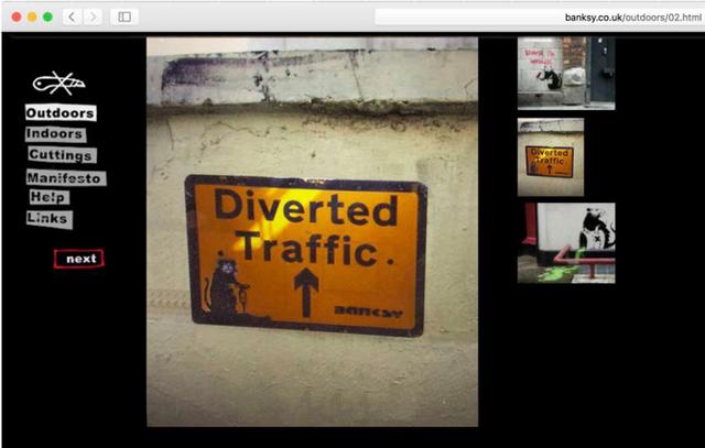 Banksy, 'Drill Rat', ca. 2003, Mixed Media, Aerosol on reclaimed metal traffic sign, Julien's Auctions